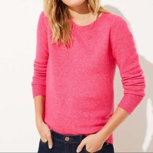 LOFT Crossover Bar Back Sweater